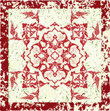 Grungy ottoman design Stock Photos