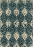 Grungy ottoman design Stock Images