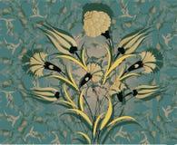 Grungy ottoman design Stock Photography