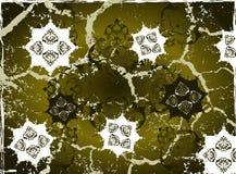 Grungy ottoman design Stock Photo