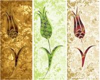 grungy ottoman för design Royaltyfri Bild