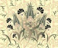 Grungy ottoman ontwerp royalty-vrije illustratie