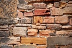 Grungy Oude Muur van de Steen Royalty-vrije Stock Foto