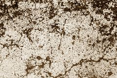 Grungy painted asphalt texture in blown tone. Abstract background and texture stock illustration