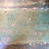 Grungy painted distressed textured white washed floor Royalty Free Stock Image