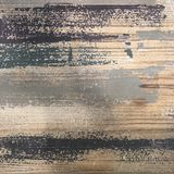 Grungy painted textured wall. Old antique rustic grungy textured wooden floor with scratches Stock Photo