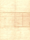 Grungy Paper Backgroun. Very old and worn paper with a seal imprint perfect for background use royalty free stock image