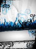Grungy party design Stock Image
