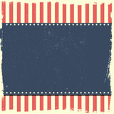 Grungy patriotic background Stock Images