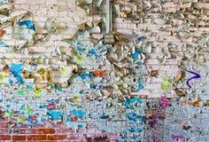 Grungy Peeling Paint Stock Photo