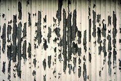 Grungy peeling painted metal background Royalty Free Stock Image