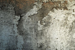 Grungy peeling plaster wall Stock Photography