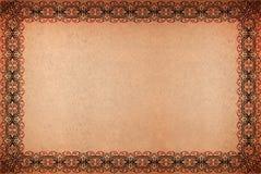 Grungy Pergamentpapier der Weinlese für Hintergründe oder Lizenzfreie Stockfotos