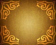 Grungy Pergamentpapier der Weinlese für Hintergrundesprit Stockbild