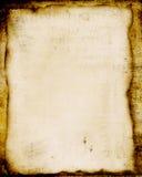 Grungy perkament Royalty-vrije Stock Afbeeldingen