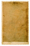 Grungy photo cardboard texture. Used paper sheet Royalty Free Stock Photography