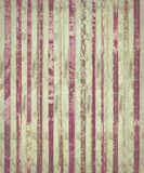 Grungy pink stripes on antique parchment Royalty Free Stock Photos