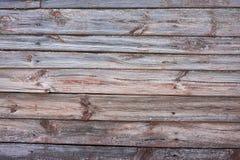 grungy plankatexturträ Arkivfoto
