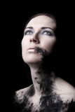 Grungy portrait Royalty Free Stock Photography