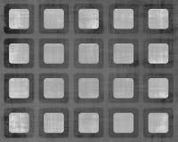 Grungy Quadrat-Galerie Stockfotografie
