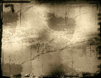 grungy ram Arkivbild