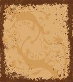 Grungy Rand mit keltischer Verzierung lizenzfreie abbildung