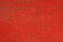 Grungy Red cement wall texture Stock Image