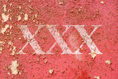 Grungy Red cement wall texture Royalty Free Stock Photo