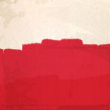 Grungy red paint Stock Images