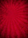 Grungy Red Paper With Light Beam Pattern Stock Photo
