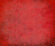 Grungy red streaked textured background Stock Photography