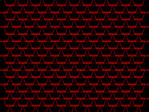 Grungy red triangular patterns Stock Images