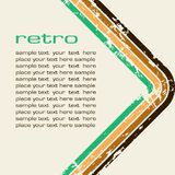 Grungy retro-background Royalty Free Stock Photography