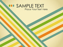 Grungy retro background. vector Royalty Free Stock Image