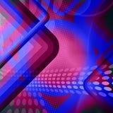 Grungy Retro Lay-out van Lijnen vector illustratie
