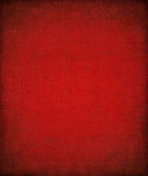 Grungy rode geschilderde geweven achtergrond Stock Afbeelding