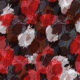 Grungy rood en bruine vlekken royalty-vrije illustratie