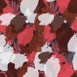 Grungy roodbruin en witte vlekken vector illustratie