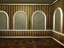 Grungy room stock photo