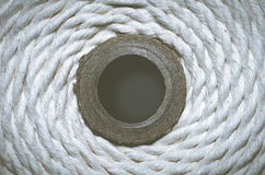 Grungy rope circle Stock Photography