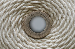 Grungy rope texture background circle Stock Image