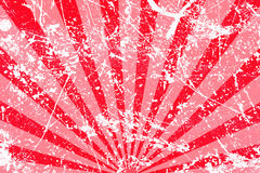 Grungy roter gestreifter Hintergrund Lizenzfreie Stockfotografie