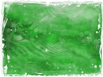 Grungy Ruined Green Canvas Royalty Free Stock Photo