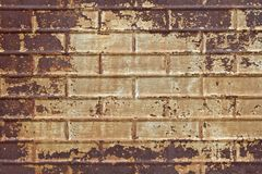 Grungy Rusted Textured Tin Background Royalty Free Stock Photo