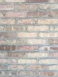 Grungy rustic brick wall background texture Stock Photography