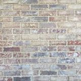 Grungy rustieke bakstenen muurtextuur als achtergrond Stock Afbeelding