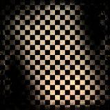 grungy schackbräde Royaltyfri Bild