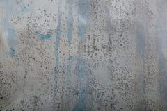Grungy schmutzige Wandbeschaffenheit Schädigender Gips mit Wasser befleckt auf der Oberfläche stockbild