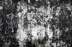 Grungy scratched wall Royalty Free Stock Photography