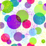 Grungy seamless colorful pattern Stock Images